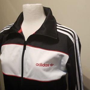 Adidas Original Linear Track Top Full Zip Jacket